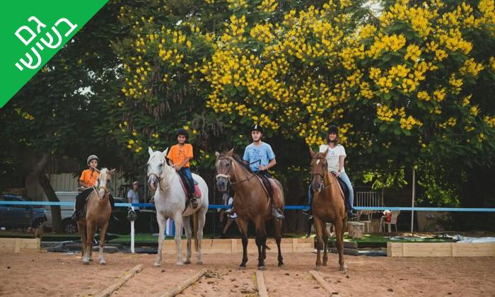 4 טיול רכיבה על סוסים בעין ורד