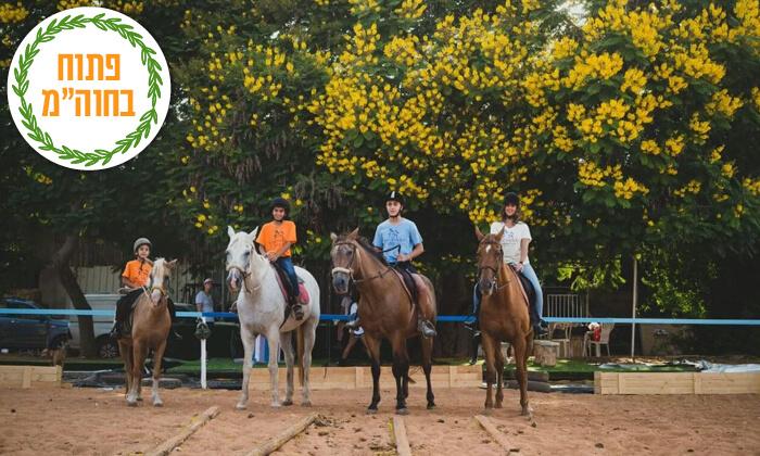 4 טיול רכיבה זוגי על סוסים בעין ורד