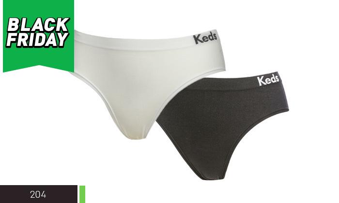 4 מארז 10 תחתוני KEDS ללא תפר לנשים