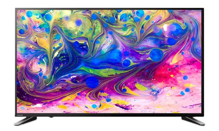 """2 טלוויזיה חכמה TOSHIBA 4K עם מסך """"65"""