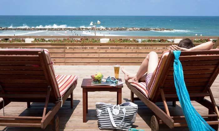 """7 חופשה זוגית הכי קרוב לים - מלון רנסנס ת""""א מרשת Marriott הבינ""""ל"""
