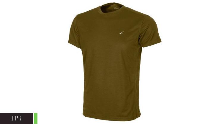 4 3 חולצות מנדפות זיעה לגברים