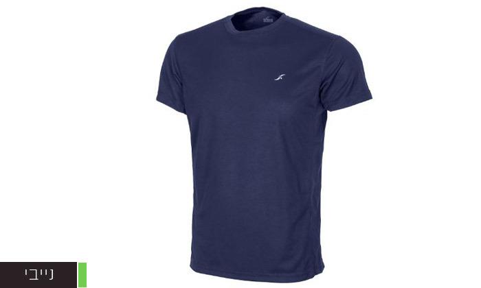 6 3 חולצות מנדפות זיעה לגברים