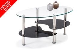 שולחן סלון מזכוכית דגם VENESA