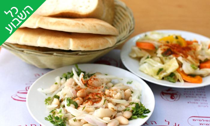 3 ארוחה זוגית במסעדת מונקה, יפו