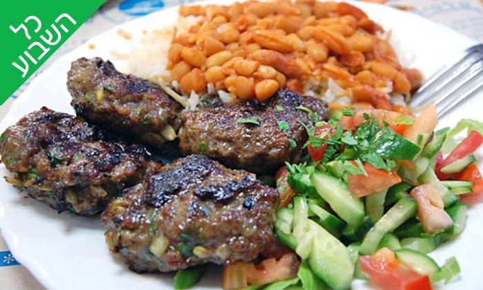 8 ארוחה זוגית במסעדת מונקה, יפו