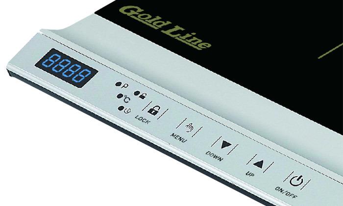 3 כירת אינדוקציה חשמלית Gold Line
