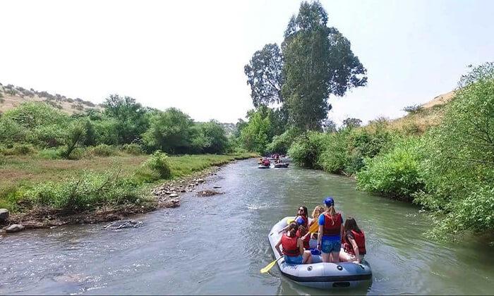 5 שייט קיאקים בנהר הירדן, גם בשישי