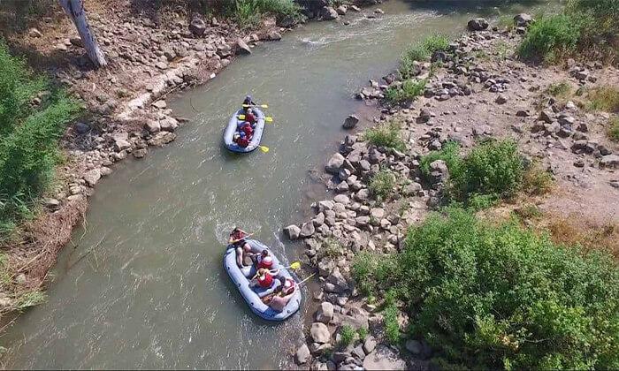 4 שייט קיאקים בנהר הירדן, גם בשישי