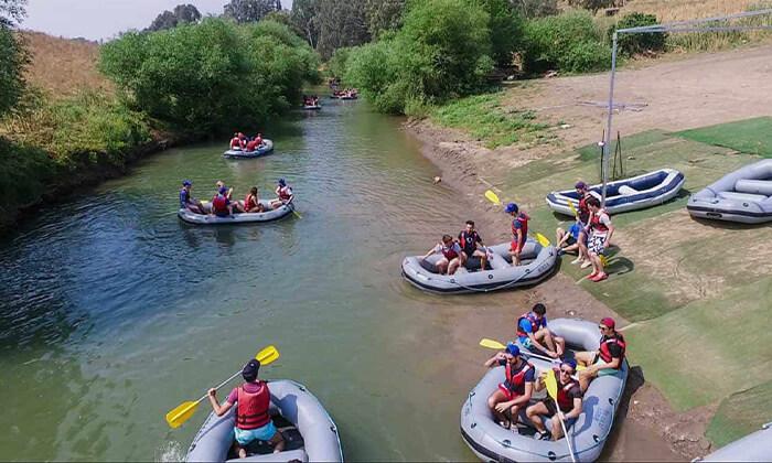 6 שייט קיאקים בנהר הירדן, גם בשישי