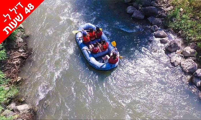 3 דיל ל-48 שעות: שייט קיאקים בנהר הירדן, גם בשישי