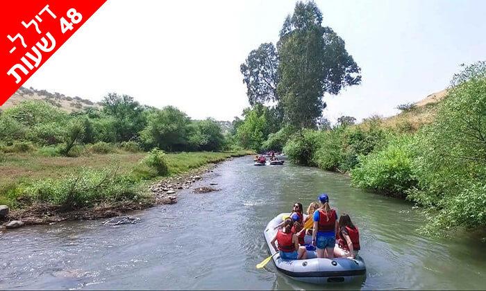 5 דיל ל-48 שעות: שייט קיאקים בנהר הירדן, גם בשישי