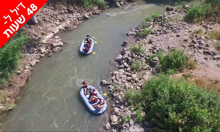 4 דיל ל-48 שעות: שייט קיאקים בנהר הירדן, גם בשישי