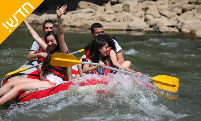 2 שייט קיאקים בנהר הירדן
