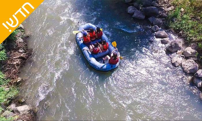 3 שייט קיאקים בנהר הירדן