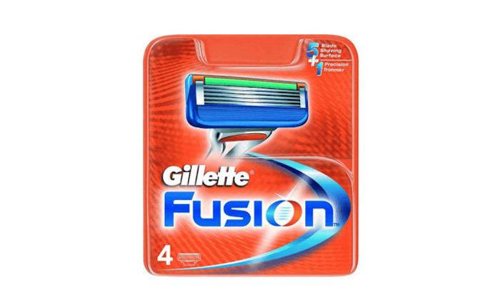 3 ג'ילט Gillette Fusion - מארז 16 סכיני גילוח