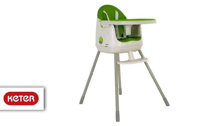 2 כתר: כיסא אוכל מולטי דיין Multi Dine Highchair