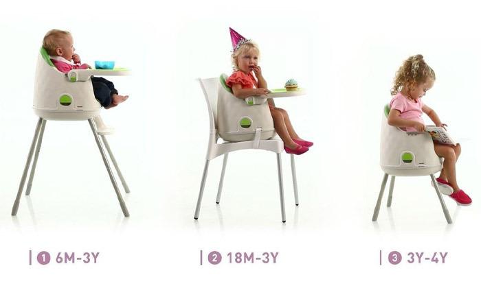 3 כתר: כיסא אוכל מולטי דיין Multi Dine Highchair