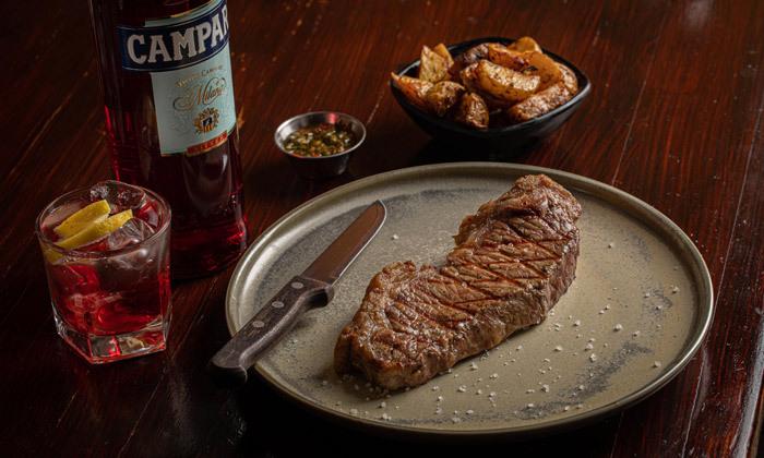 3 רשת רק בשר: ארוחת פרימיום זוגית עם קילו בשרים ויין ללא הגבלה