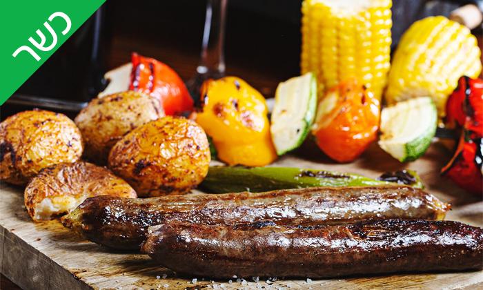 5 רק בשר סניף רחובות, כשר - ארוחת פרימיום זוגית