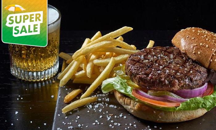 5 ארוחת המבורגר ב-T.A ממסעדת לחם בשר הכשרה למהדרין במרינה הרצליה