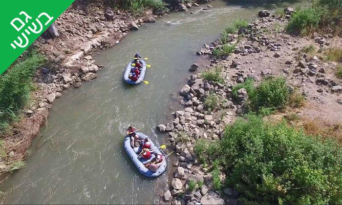 8 מסלול נינג'ה, קיר טיפוס ושייט קייאקים בנהר הירדן