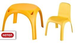 שולחן וזוג כיסאות לילדים, כתר