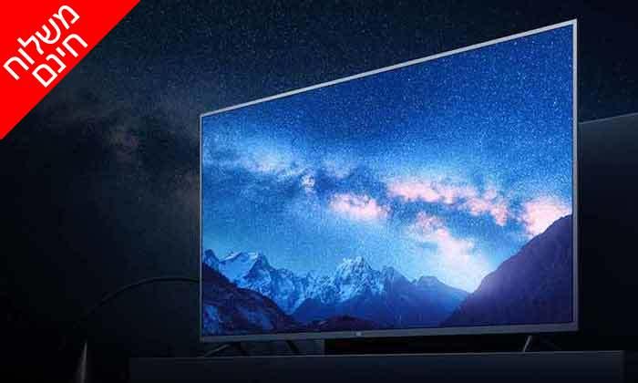 3 טלוויזיה חכמה 4K שיאומי Xiaomi, מסך 65 אינץ' - משלוח חינם