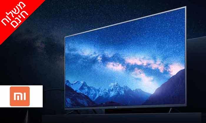 2 טלוויזיה חכמה 4K שיאומי Xiaomi, מסך 65 אינץ' - משלוח חינם