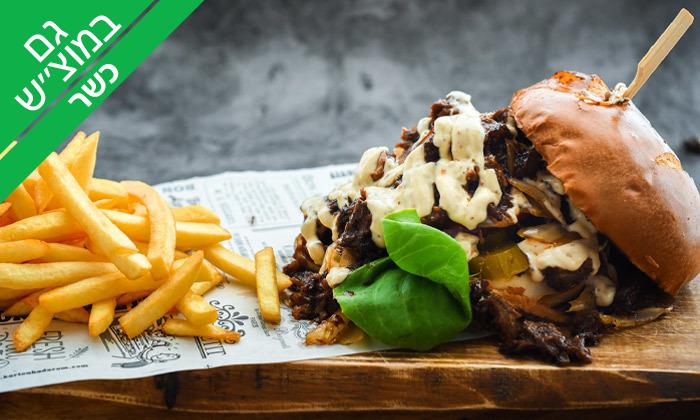 5 בר בשר - ארוחת אכול כפי יכולתך כשרה לזוג, מעונה
