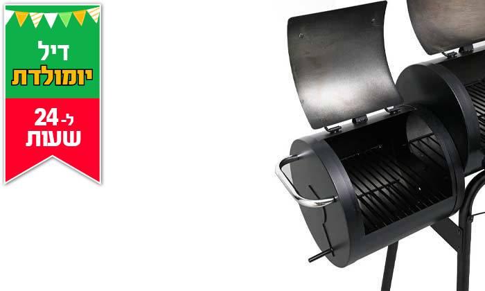 5 דיל לזמן מוגבל: מעשנת בשר משולבת גריל Elkol