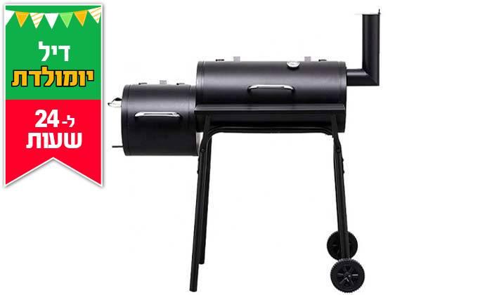 6 דיל לזמן מוגבל: מעשנת בשר משולבת גריל Elkol