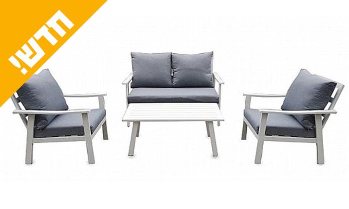 3 ריהוט גינה עם ספה דו מושבית דגם בוגוטה