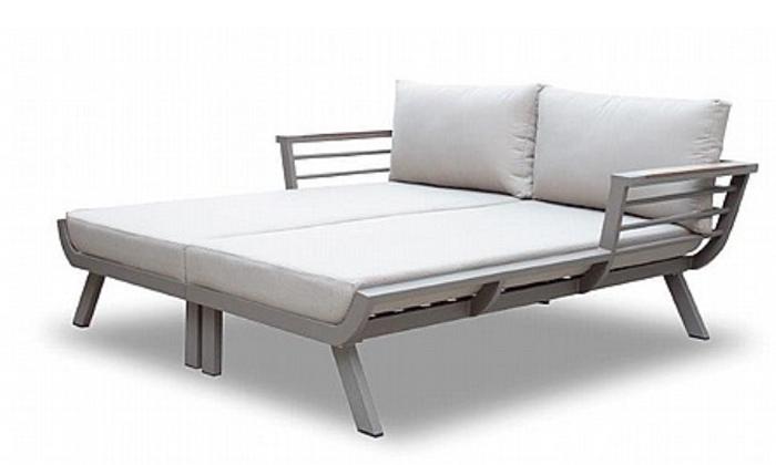 2 מיטת שיזוף זוגית, דגם קנזס