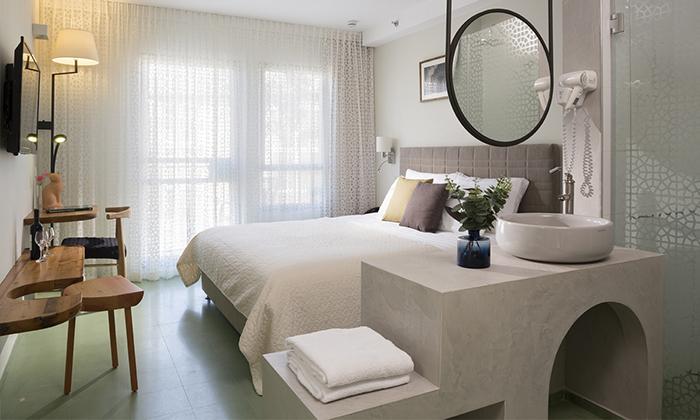 """2 מלון הבוטיק מרגוזה תל אביב - יפו, כולל סופ""""ש וחגים"""