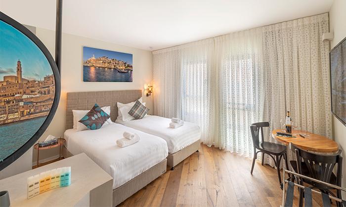 """5 מלון הבוטיק מרגוזה תל אביב - יפו, גם בסופ""""ש ובחגים"""
