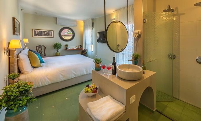 """4 מלון הבוטיק מרגוזה תל אביב - יפו, כולל סופ""""ש וחגים"""
