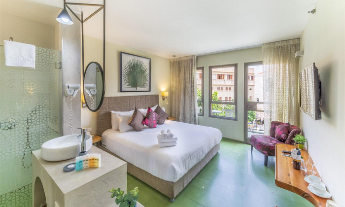 """8 מלון הבוטיק מרגוזה תל אביב - יפו, גם בסופ""""ש ובחגים"""