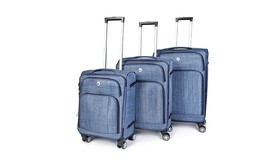 3 מזוודות דוחות נוזלים SWISS