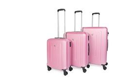 3 מזוודות קשיחות SWISS BRIEF
