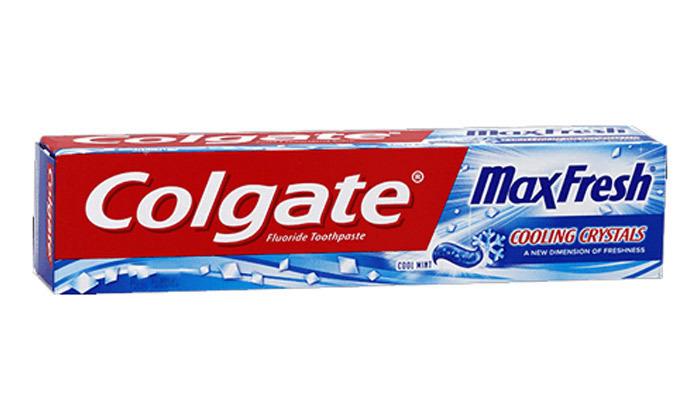 3 10 יחידות משחת שיניים Colgate קולגייט מקס פרש
