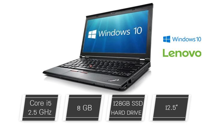 2 מחשב נייד לנובו Lenovo עם מסך 12.5 אינץ'