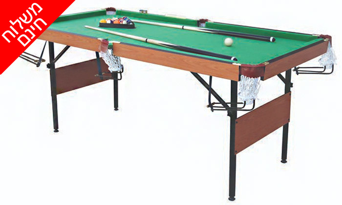 3 שולחן ביליארד מתקפלENERGYM sport - משלוח חינם