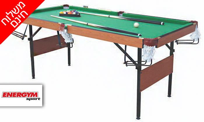 2 שולחן ביליארד מתקפלENERGYM sport - משלוח חינם