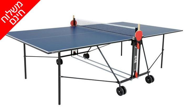 4 שולחן פינג פונג פניםENERGYM sport - משלוח חינם