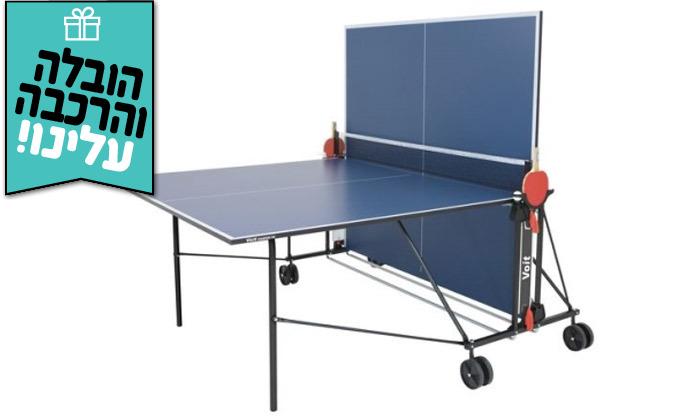 6 שולחן פינג פונג פניםENERGYM sport - משלוח חינם