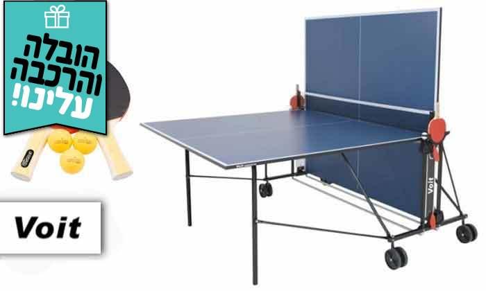 2 שולחן פינג פונג פניםENERGYM sport - משלוח חינם