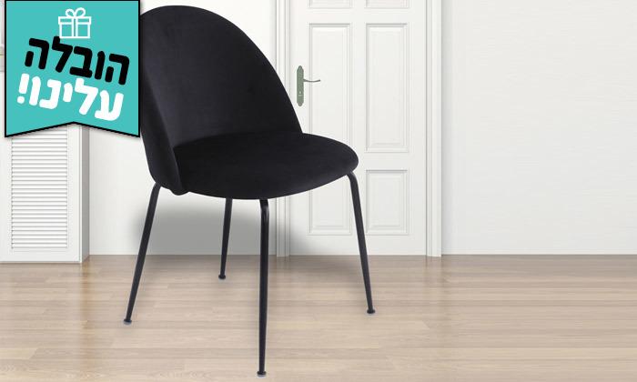 5 זוג כיסאות מרופדים לפינת האוכל HOME DECOR,דגם תובל - משלוח חינם