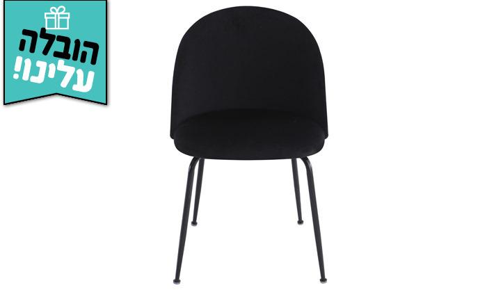 3 זוג כיסאות מרופדים לפינת האוכל HOME DECOR,דגם תובל - משלוח חינם