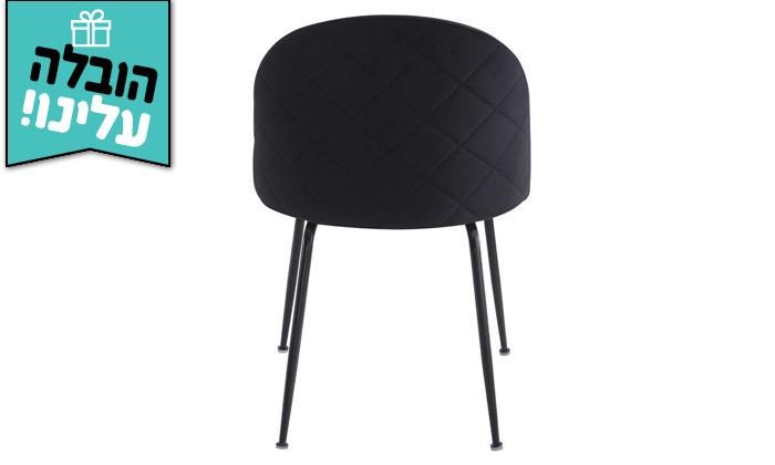 4 זוג כיסאות מרופדים לפינת האוכל HOME DECOR,דגם תובל - משלוח חינם